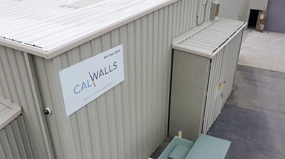 Exterior of the CalWalls building in Benicia, CA